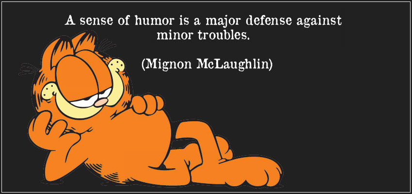 sense of humour The goal is to create a sense of fellowship, happiness, and well-being if you are fond of jokes about animals or everyday occurrences,.