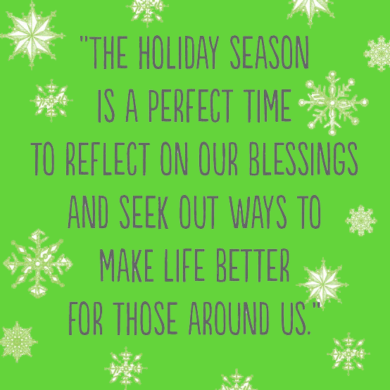 During This Festive Holiday Take Time To Reflect On The Many Blessings You  Have In Your Life! ...