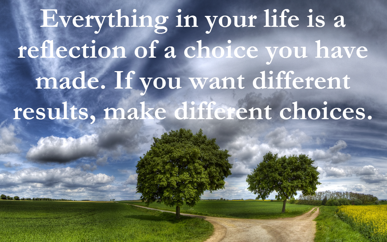 life is choice quotes