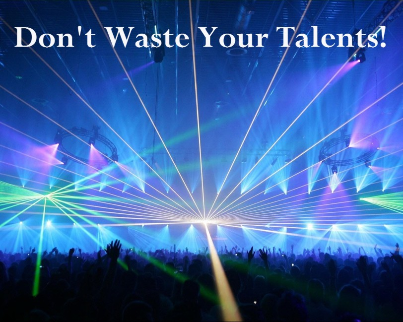 Don't waste your-talents orlando espinosa
