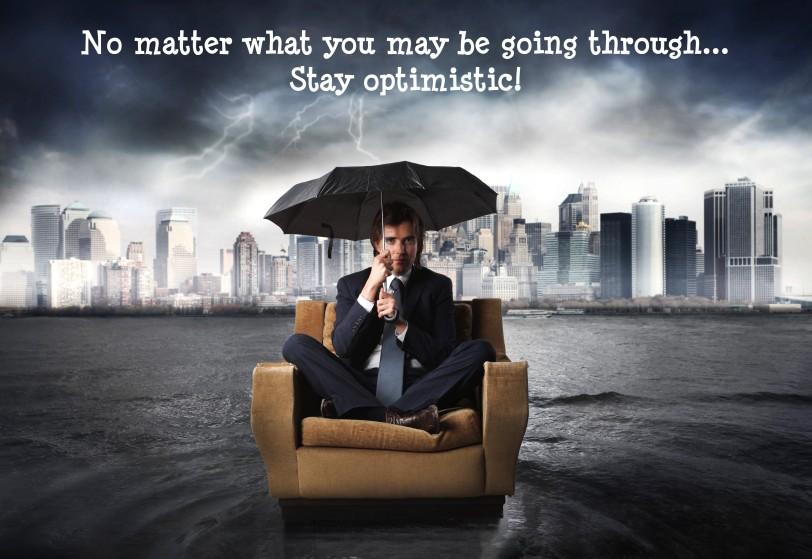 Stay Optimistic orlando espinosa