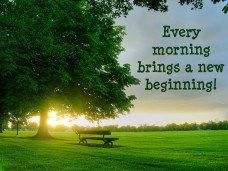 every morning has a new beginning-orlando espinosa