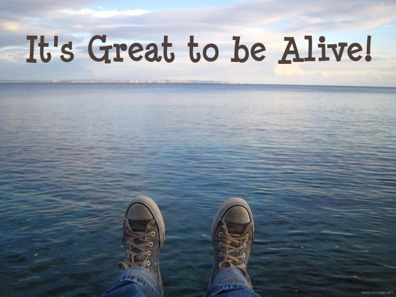 its great to be alive-orlando espinosa