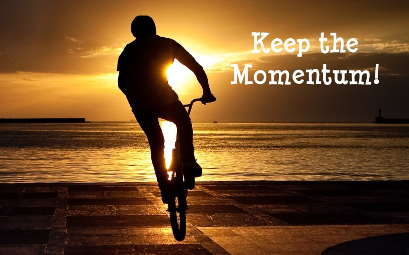 keep the momentum-orlando espinosa