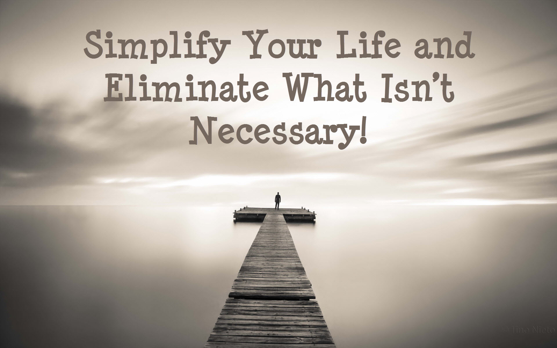 Simplify your life week