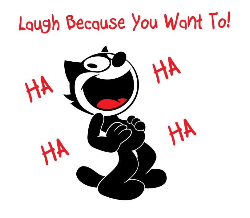 laugh felix the cat ha ha orlando espinosajpg