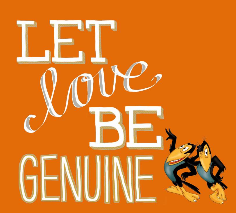 let love be genuine orlando espinosa