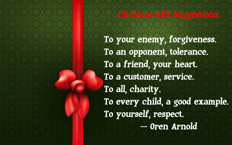 Christmas Gift Suggestions | Orlando Espinosa