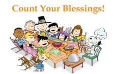 count your blessings giving thanks peanuts-thanksgiving orlando espinosa