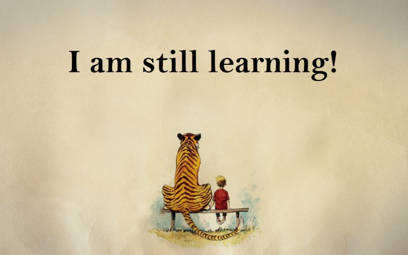 i am still learning learn something new michelangelo orlando espinosa calvin and hobbes