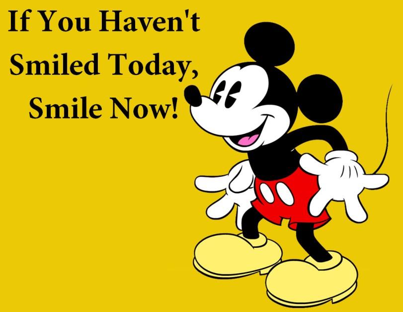 Smile today Mickey Mouse Orlando Espinosa