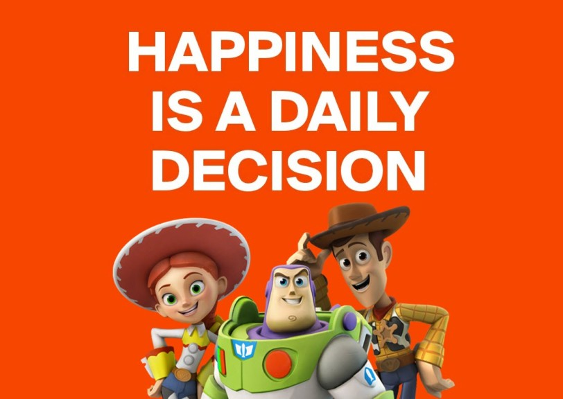 Happiness is a daily decision orlando espinosa