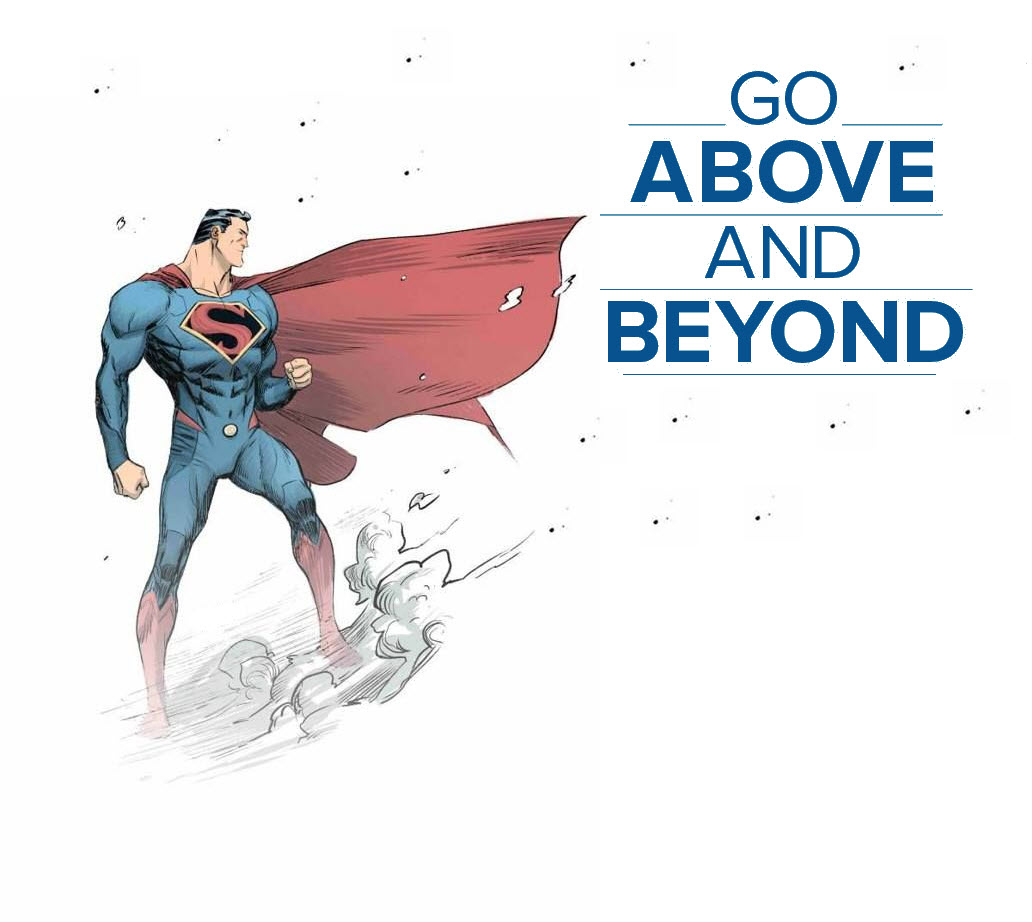 Go above and beyond orlando espinosa for Above and beyond