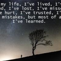 Lessons Life Teach Us