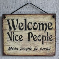 Welcome Nice People