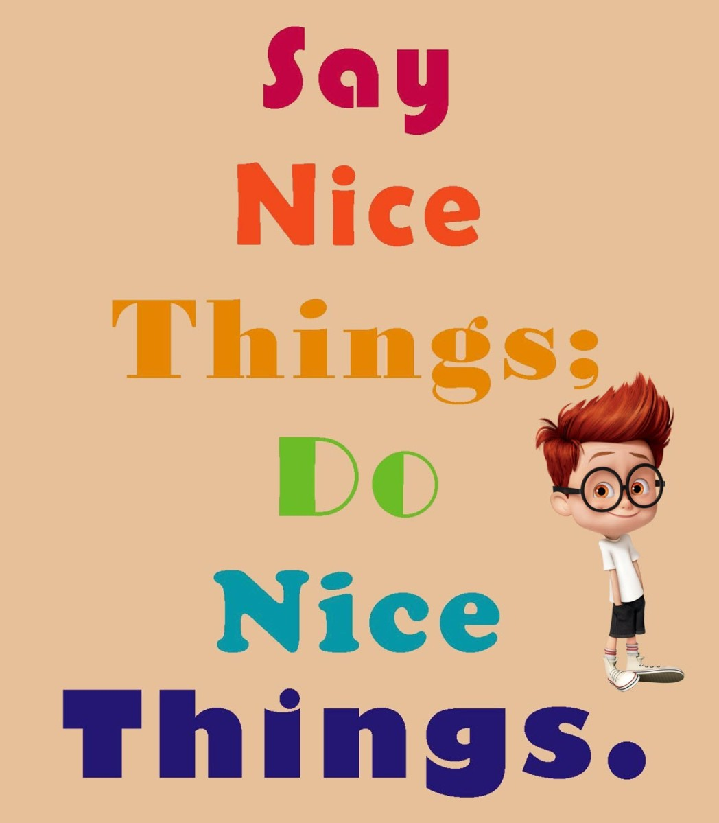 Nice Things To Say