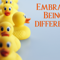 Embrace Being different