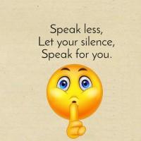 Let Your Silence Speak