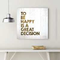 A Decision To Be Happy