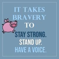 It Takes Bravery