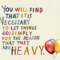 Letting Go Is Needed