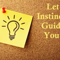Let Instincts Guide You