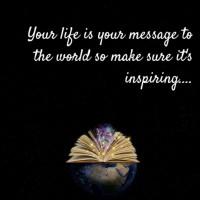 Message Is Inspiring