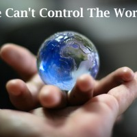 We Can't Control
