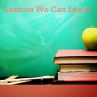 Lessons We Can Learn
