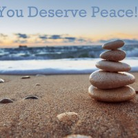 You Deserve Peace