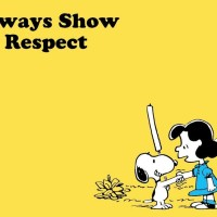 Show People Respect